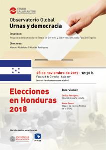 Elecciones en Honduras 2018 @ Aula 002B - Facultad de Derecho